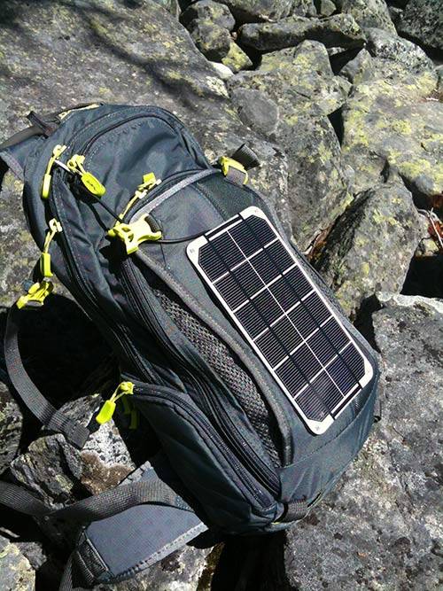 Solar hydration pack